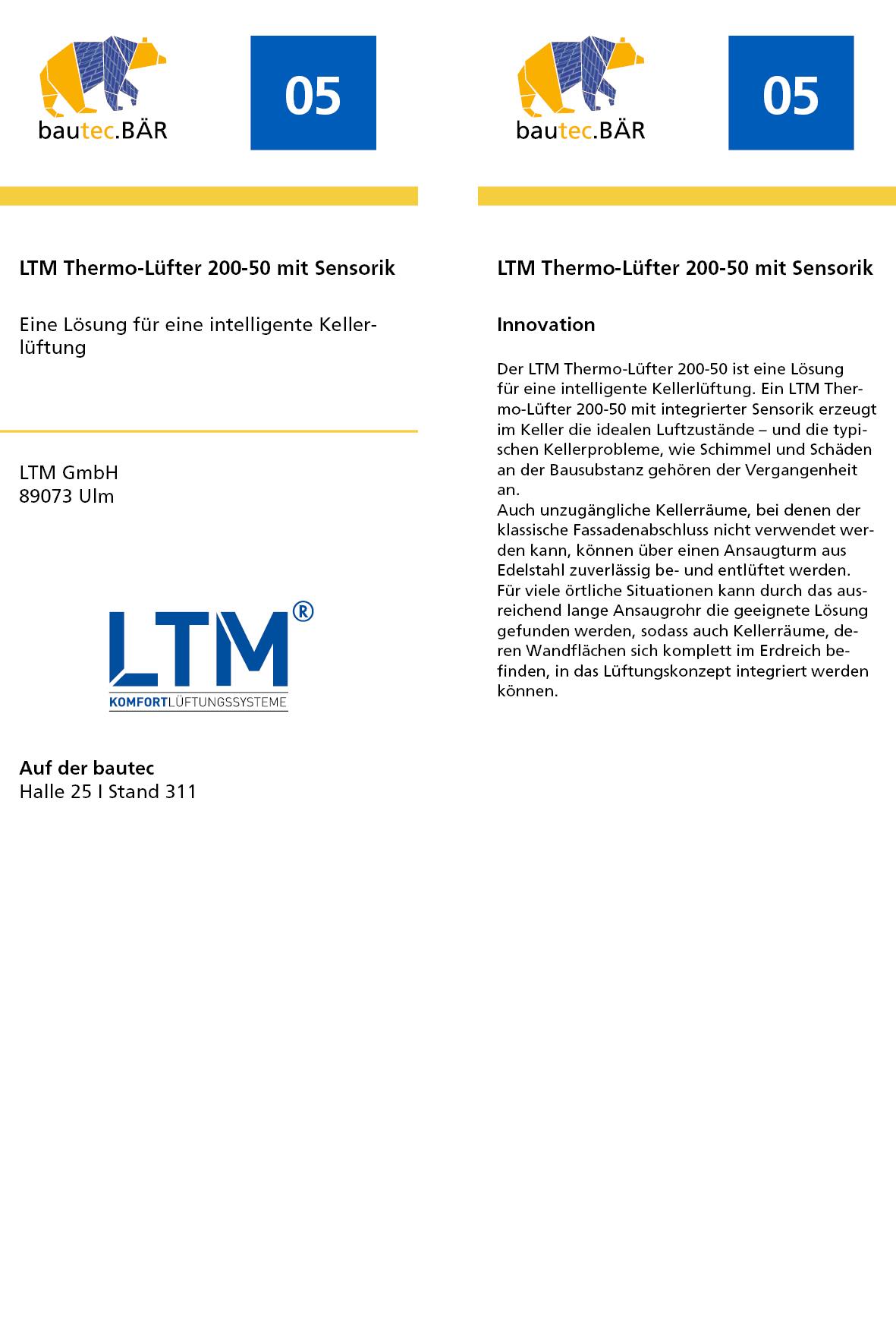 Ltm Thermo Lüfter bautec bär innovation altbau